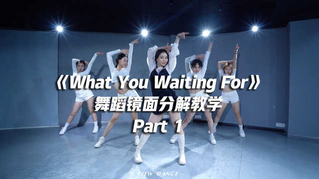 SOMI《What You Waiting For》舞蹈镜面分解教学Part 1