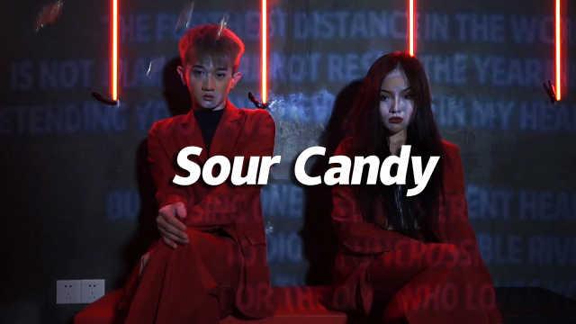 安吉、林澈编舞《Sour Candy》,双倍灵动