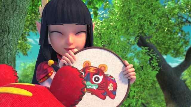 《柳毅传奇》螭娘在潍坊城和柳毅、虎女结下深厚情义