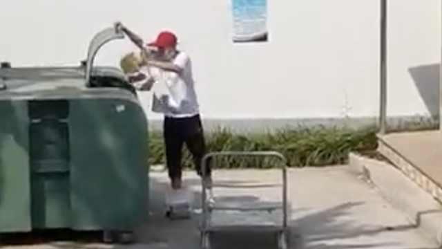 莱阳卫生学校回应扔学生外卖进垃圾桶:方式粗暴,接受批评