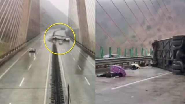 雅西高速客车侧翻致6死29伤,司机判6年,行驶中2次实线变道