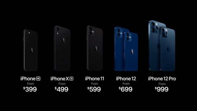 3分钟看完iPhone12发布会:苹果进入5G时代,5499元起售