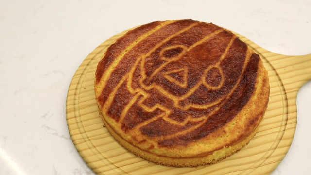 巴斯克南瓜饼:刻画万圣节气氛