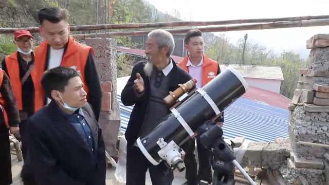 农民大爷花15年在深山自建天文台:追日40年跑遍全国