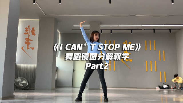 TWICE《I CAN'T STOP ME》舞蹈镜面分解教学Part2