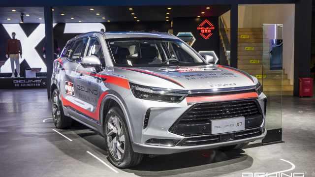 北京汽车推首款插混车型,这内饰值多少钱?