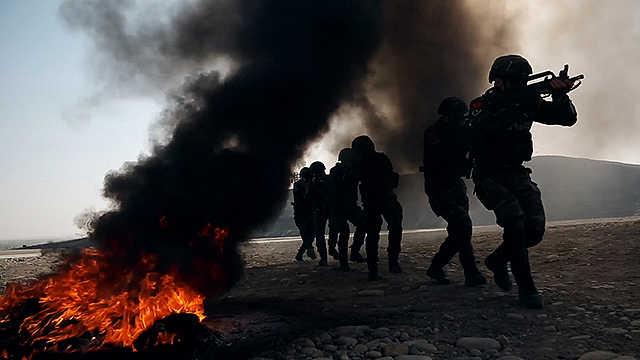 武警新疆总队某支队练兵备战,锻造新时代的反恐利刃