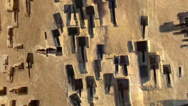 山西一北魏墓地发现彩绘漆木棺,1500年仍保存完整