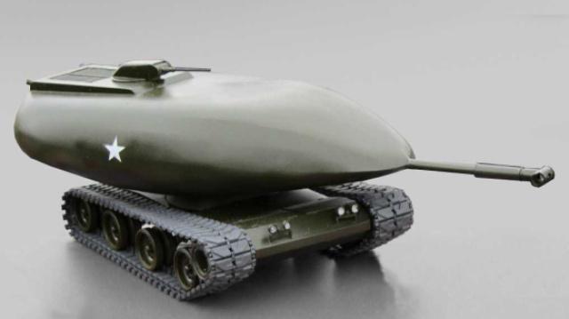 使用核动力的坦克你见过吗?