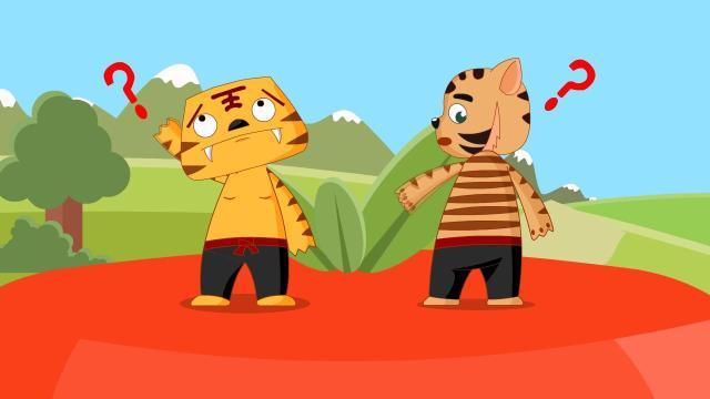 百漫儿歌|两只老虎
