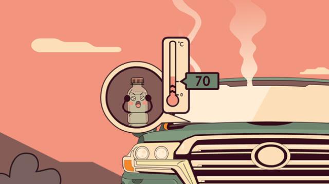 夏天放车里的水会致癌?又是谣言!