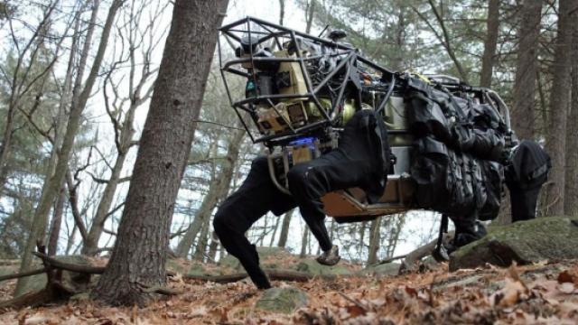 一款让美军高度紧张的机器人