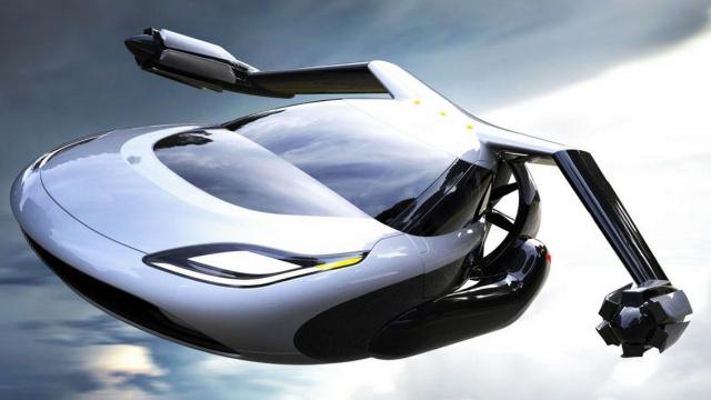 未来有机会开着会飞的汽车去上班了