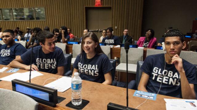 联合国青年大会上的中国声音