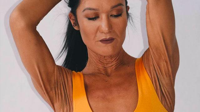 她有着世界上最独特的皮肤!