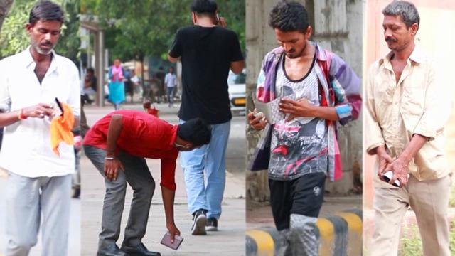 中国小伙印度掉钱包测试印度人