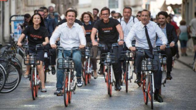 厉害了!共享单车冲出国门走向世界