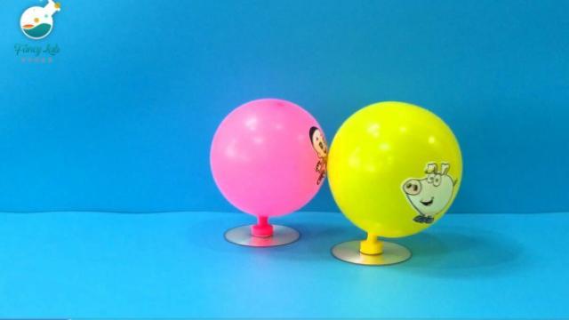 咦!你还在玩吹气球吗……