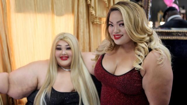 重500磅女子开胖子美发店收入千万