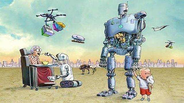 未来机器人取代?00后回答一针见血