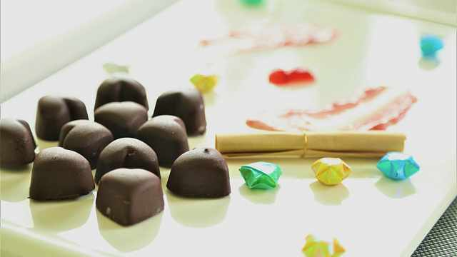 一块红心巧克力,带你回到恋爱时光