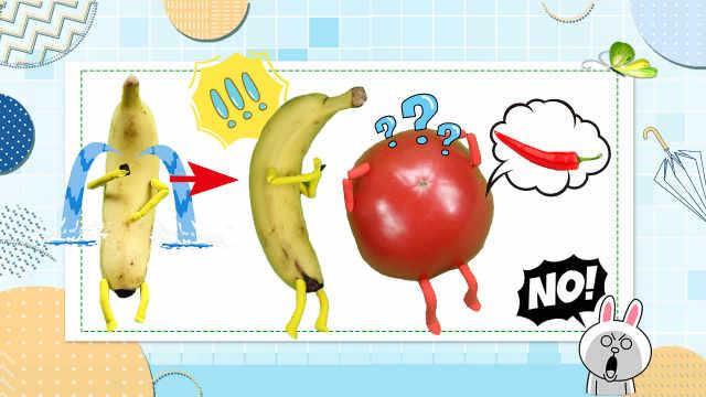 这创意绝了,网友竟把香蕉变活了!