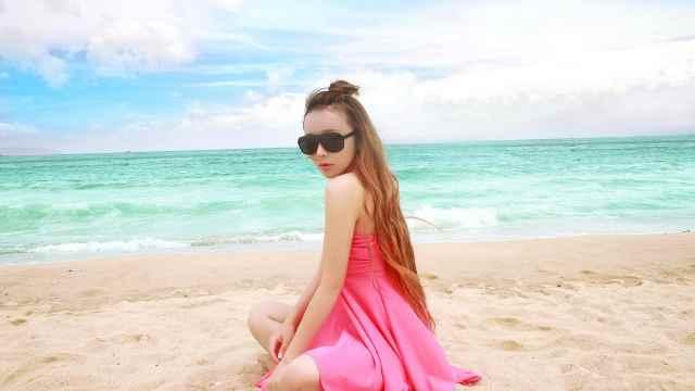 实拍中国第一滩:北海银滩,美哭了