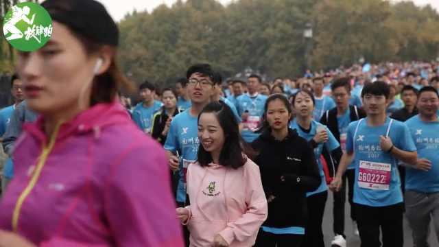 视频新闻:杭州马拉松今日开跑
