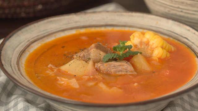 冬日暖心罗宋汤,酸甜开胃更营养!