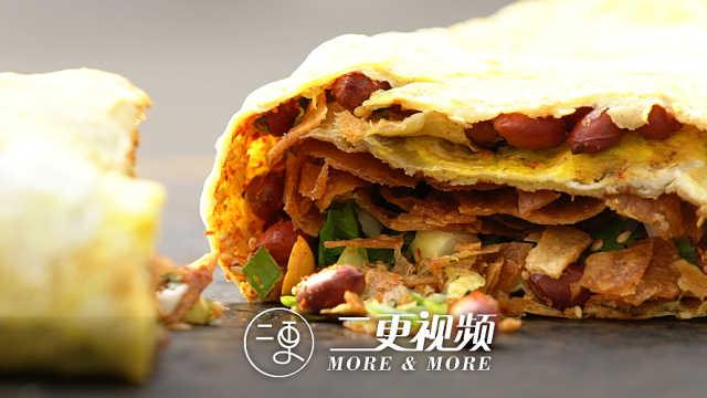 凭一头白毛,煎饼能在北京卖到15元
