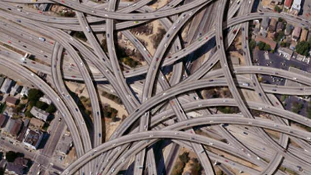 中国最复杂的立交桥,老司机快崩溃