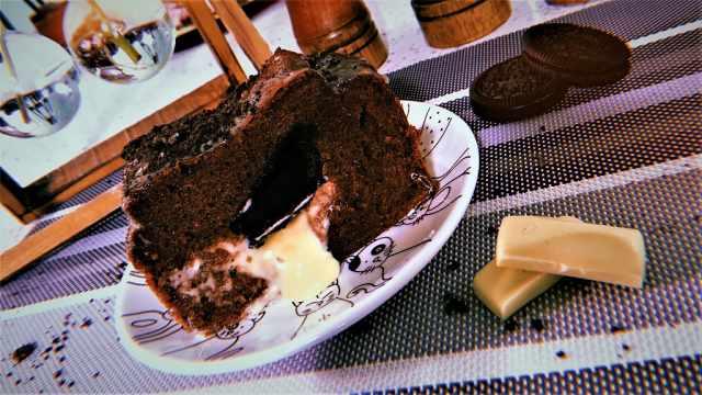 咬下去浓郁美味,蛋糕界的爆浆精品