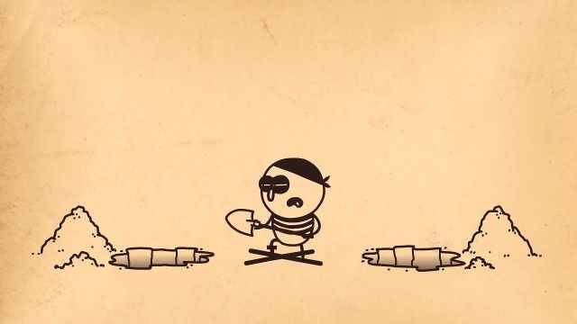 Pencilmation铅笔动画:寻宝