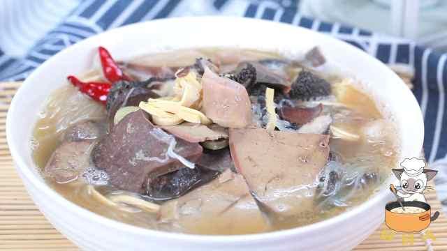 来自西北的羊杂汤,吃完身体都强壮