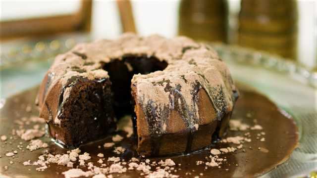 来吃甜点吧,做高颜值巧克力蛋糕!