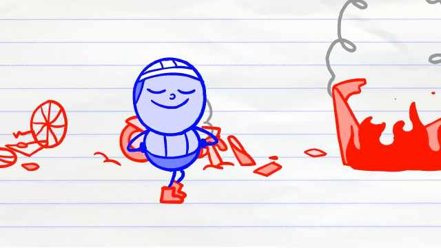 Pencilmation铅笔动画:交通