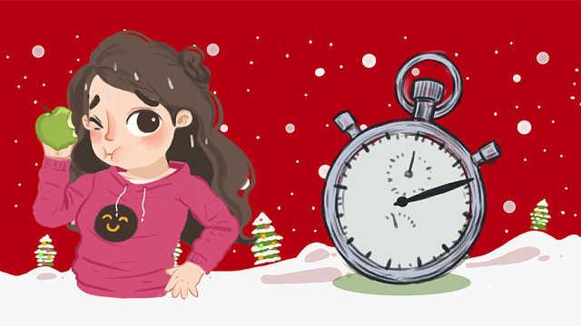 """圣诞挑战""""苹果减肥""""?小心反弹!"""