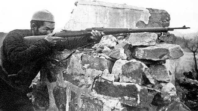抗战中的中国军队火力凄惨