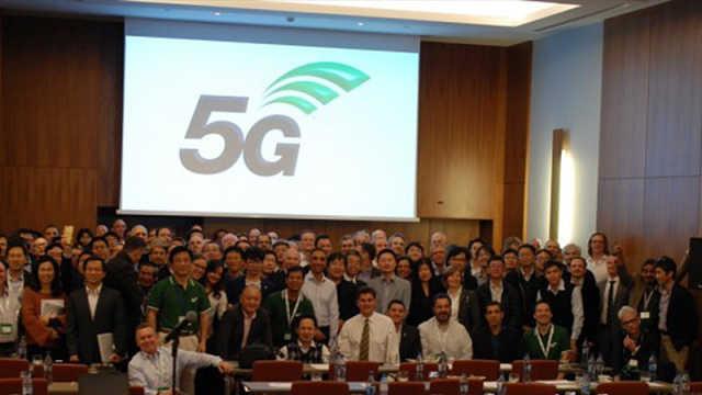 全球第一个5G标准完成并发布