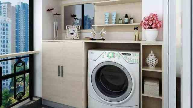 阳台洗衣房这样设计最实惠