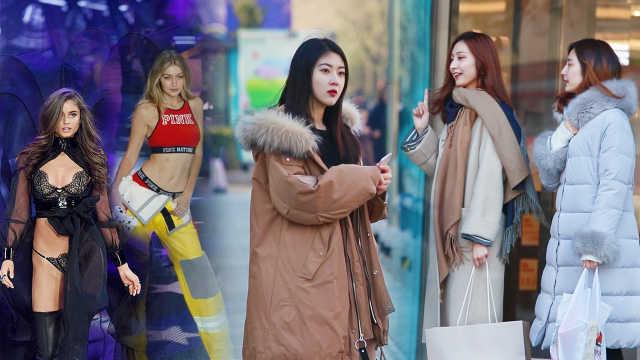 街头测试:美女问陌生人是不是模特