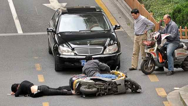开车遇到碰瓷党不要怕,只需这样做