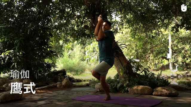 sikana瑜伽教程:鹰式