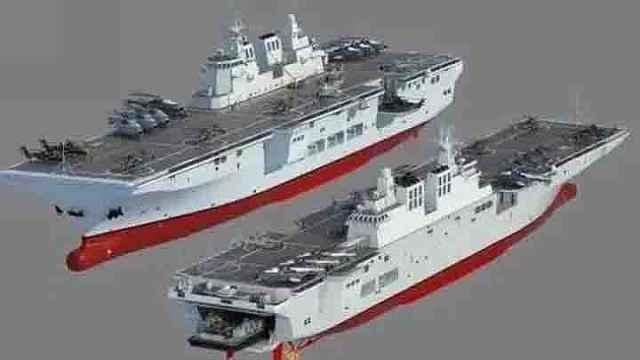 中国核动力水面舰船突然曝光!