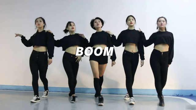 小姐姐们性感《boom》翻跳节奏爆棚