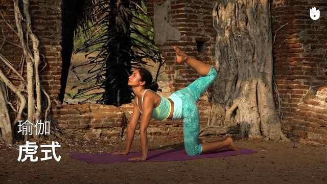 sikana瑜伽教程:虎式