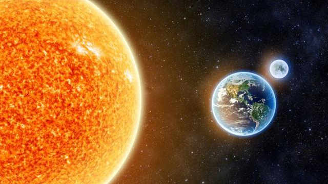 地球和太阳距离缩进10%会发生什么