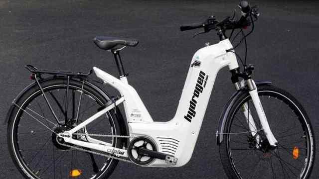 世界首款氢燃料电力自行车问世