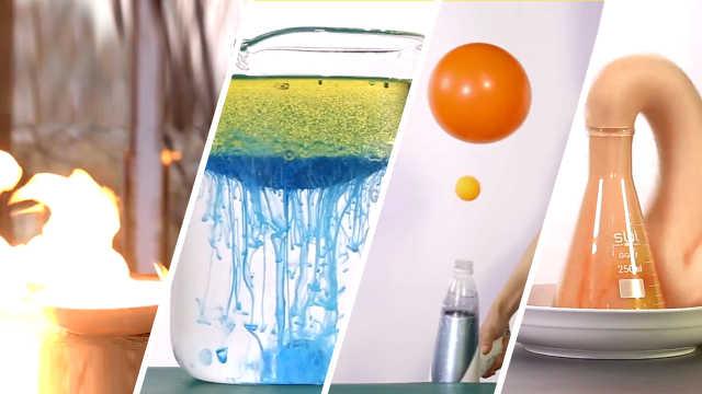 5个令人惊艳的神奇科学小实验