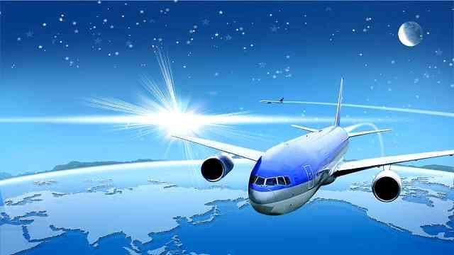 自西向东的航班为什么速度会更快?